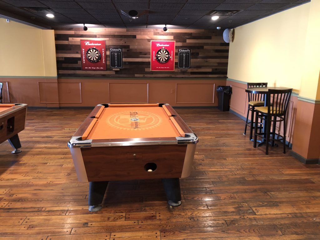 Pool and Dart Boards